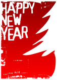 Happy new year. Vector illustration for christmas time Stock Images
