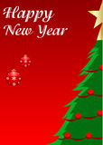 Happy new year. Vector illustration for christmas time Stock Photo