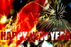happy new year Στοκ Φωτογραφία
