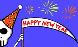 Happy New Year. An illustration of happy new year Stock Images