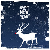 Happy new year. Vector illustration for the christmas time Royalty Free Stock Image