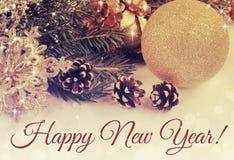 Happy New Year! Royalty Free Stock Photos