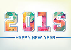 Happy New Year 2015. Abstact Happy New Year 2015 vector illustration