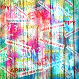 Happy new year abstract background Stock Photos