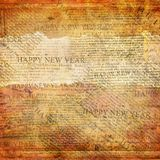 Happy New Year abstract background. With text stock illustration