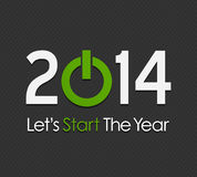 Happy New Year 2014. Abstract Background vector illustration