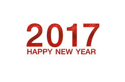 Happy new year 2017 on Abstract  background. Happy new year 2017  Abstract bokeh background.Can be used bokeh texture and bokeh background Stock Photos