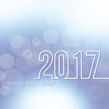 Happy New Year 2017. Stock Images
