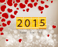 Happy new year abstract background. Happy new year background and greeting card design Royalty Free Stock Photography