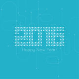 Happy New Year Royalty Free Stock Photography