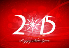 Happy new year abstract background with snowflakes. Happy new year background and greeting card design Royalty Free Stock Image