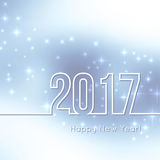 Happy New Year 2017. Royalty Free Stock Images