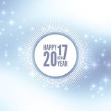 Happy New Year 2017 Royalty Free Stock Image