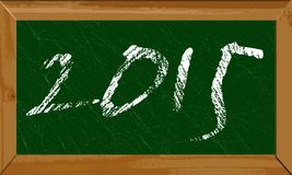 Happy new year 2015 Royalty Free Stock Image