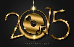 Happy New Year 2015 Stock Photo