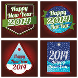 Happy New Year. Abstract special different happy new year background Royalty Free Stock Photos