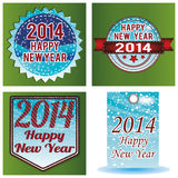 Happy New Year. Abstract special different happy new year background stock illustration
