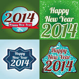 Happy New Year. Abstract special different happy new year background Royalty Free Stock Image