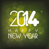 Happy New Year. Abstract happy new year text on special background Stock Photography
