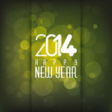 Happy New Year. Abstract happy new year text on special background royalty free illustration