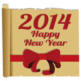 Happy New Year. Abstract happy new year text on special background Royalty Free Stock Photography