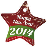 Happy New Year. Abstract happy new year text on special background Stock Photo