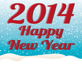 Happy New Year. Abstract happy new year text on special background Royalty Free Stock Images