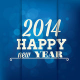 Happy new year. Abstract happy new year text on special background stock illustration