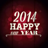 Happy new year. Abstract happy new year text on special background Stock Photos