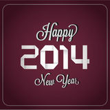 Happy new year. Abstract happy new year text on special background Royalty Free Stock Image