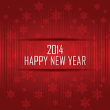 Happy New Year. Abstract happy new year text on special red background Stock Photo