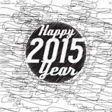 Happy New Year 2015 Abstract. Vector Background Royalty Free Stock Image