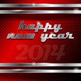 Happy new year. Abstract vector illustration of happy new year text Royalty Free Stock Photos