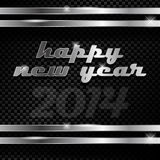 Happy new year. Abstract vector illustration of happy new year text Stock Images