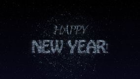 Happy New Year Animation stock illustration