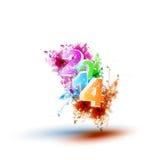 Happy new year 2014!. Art concept Stock Image