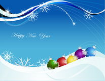 Happy New Year background. Vector Happy New Year background Stock Image