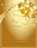 Happy New Year background. Gold Happy New Year background Stock Images