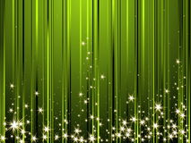 Happy New Year background. Green Happy New Year background Royalty Free Stock Image