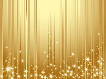 Happy New Year background. Gold Happy New Year background Royalty Free Stock Photos
