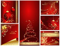 Happy New Year background. Merry Christmas and Happy New Year collection royalty free illustration
