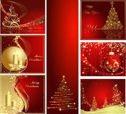 Happy New Year background. Merry Christmas and Happy New Year collection stock illustration