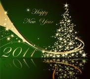 Happy New Year background Stock Image