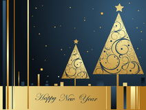 Happy New Year background Royalty Free Stock Photo