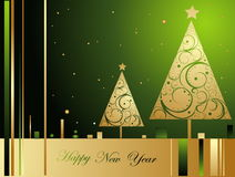 Happy New Year background Stock Photos