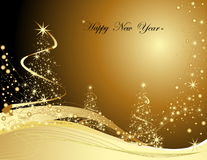 Happy New Year background. Merry Christmas background silver and violet Royalty Free Stock Photography