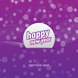 Happy new year background. Purple on the ground for happy new year Royalty Free Stock Photography