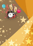Happy new year background. Happy new year poster background with space Vector Illustration