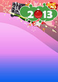 Happy new year background. Happy new year poster background with space Royalty Free Stock Photo
