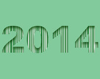 Happy new year 2014. Background Royalty Free Stock Photography